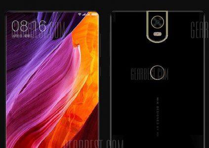 Смартфон Xiaomi Mi Mix 2 появился в интернет-магазине Gearbest, озвучены его характеристики и цена