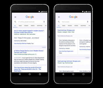Google добавил фактчек в новостной агрегатор и поисковик
