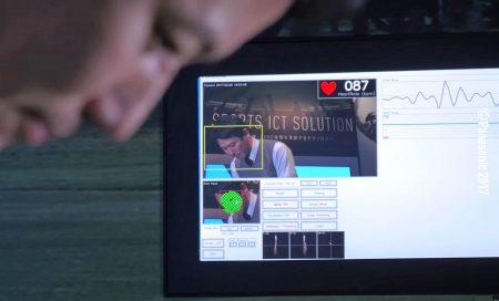 Panasonic разработала технологию анализа сердечного ритма спортсменов по цвету кожи лица