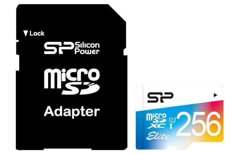 Silicon Power увеличивает объем карт памяти Superior Pro SDXC UHS-I (U3) и Elite microSDXC UHS-I (U1) до 256 ГБ