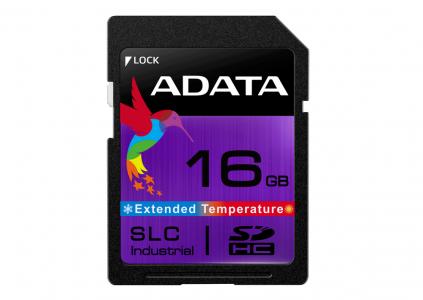 ADATA представила SD-карты памяти SLC Industrial (ISDD361) для использования в экстремальных условиях