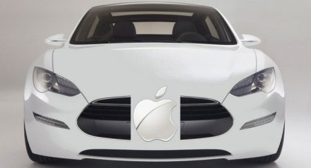 В Кремниевой долине замечен тестовый самоуправляемый автомобиль Apple