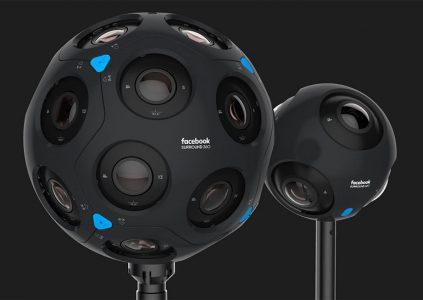 Facebook анонсировала второе поколение камер виртуальной реальности Surround 360