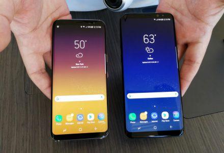 Samsung начала испытывать проблемы с удовлетворением спроса на новые смартфоны Samsung Galaxy S8 / S8+