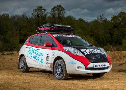 Электромобиль Nissan Leaf впервые отправится на Mongol Rally 2017, где попытается преодолеть 16000 км маршрута Лондон — Улан-Удэ
