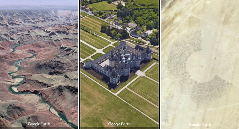 Новый Google Earth: 3D-карты, случайные места и экскурсии с учеными