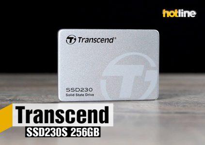 Видеообзор накопителя Transcend SSD230S 256 ГБ