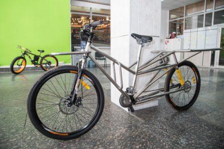 Украинские инженеры вывели на Indiegogo первый украинский электровелосипед VoltyCо для личного использования и служб доставки с запасом хода до 120 км и ценой от $  999