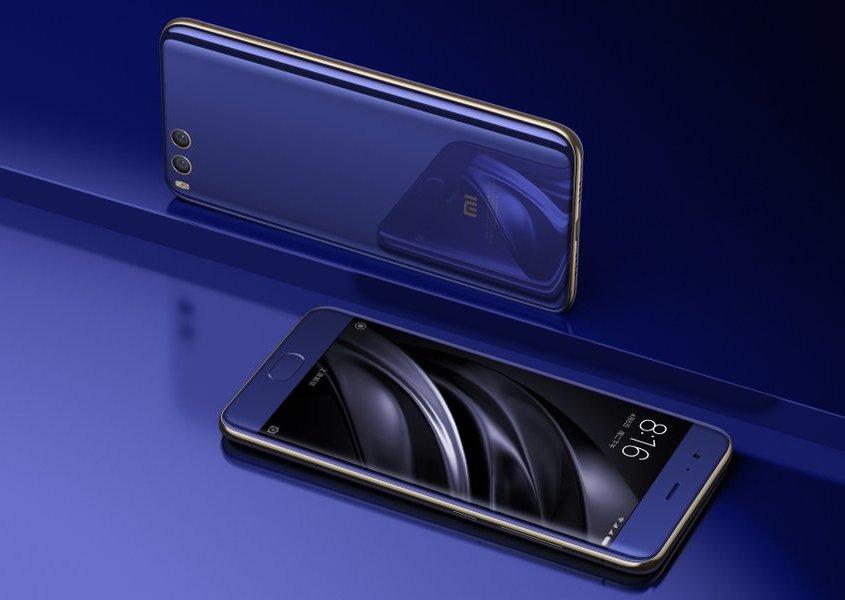 Смартфон Xiaomi Mi6 оборудован  чипом Snapdragon 835 исдвоенной камерой