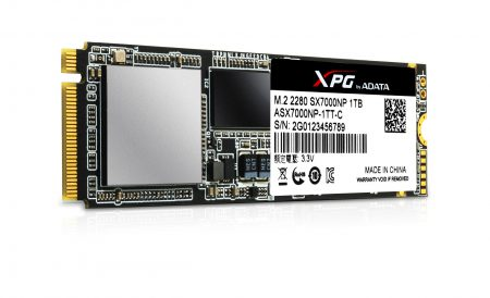 Накопители ADATA XPG SX7000 с поддержкой PCIe и NVMe предложены в объемах до 1 ТБ