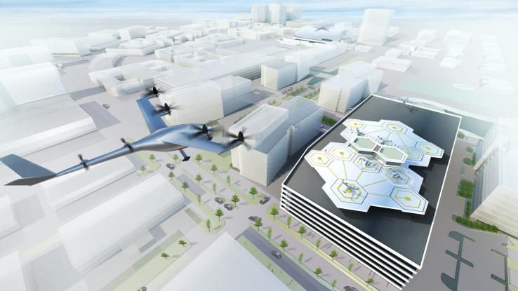 Uber занялась разработкой летающих электротакси. Первые испытательные полеты намечены на 2020 год, запуск сервиса – в 2023 году