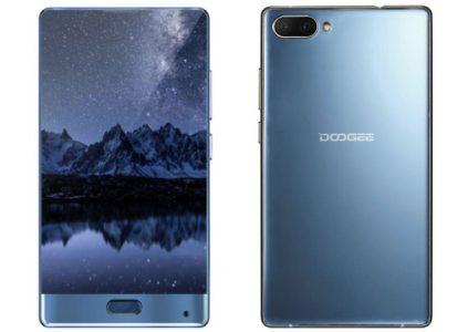 Doogee выпустила безрамочный смартфон в стиле Xiaomi Mi Mix и назвала его Doogee Mix