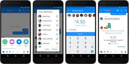 Facebook запускает групповые денежные переводы в приложении Messenger (пока только в США)