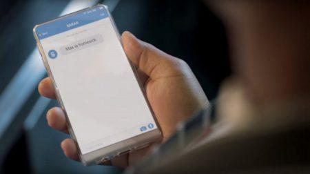 В новой рекламе Michelin замечен безрамочный смартфон Энди Рубина, лишенный каких-либо физических кнопок под экраном