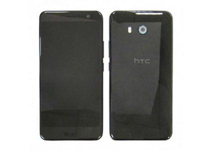 Смартфон HTC U с чувствительными к касаниям гранями получит степень защиты IP57, опубликовано его первое фото
