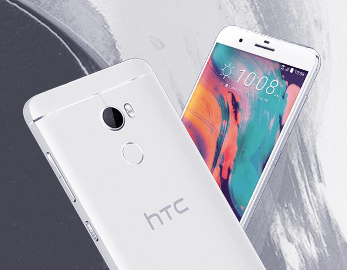 Смартфон среднего уровня HTC One X10 получил цельнометаллический корпус и аккумулятор емкостью 4000 мА·ч
