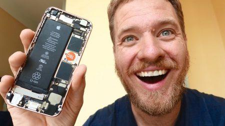 Энтузиаст собрал рабочий смартфон iPhone 6s из отдельных компонентов, купленных в Китае [Видео]