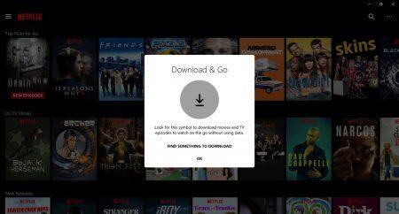 Netflix наконец-то добавил офлайн-просмотр фильмов и шоу для пользователей Windows 10
