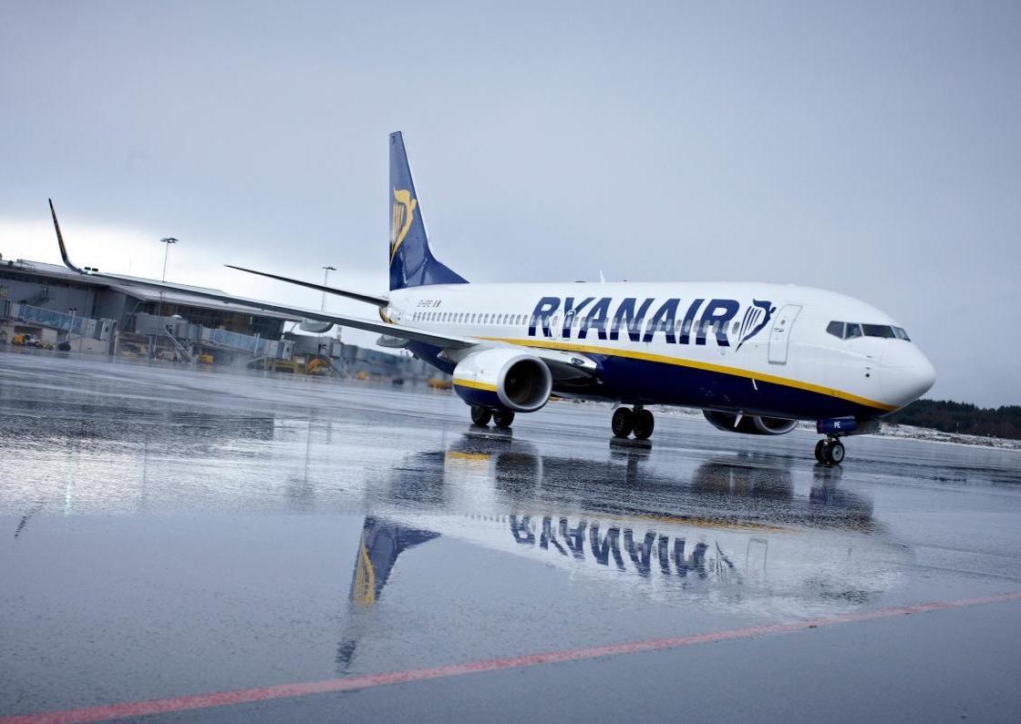 Лоукостер Ryanair будет летать изаэропорта «Борисполь»