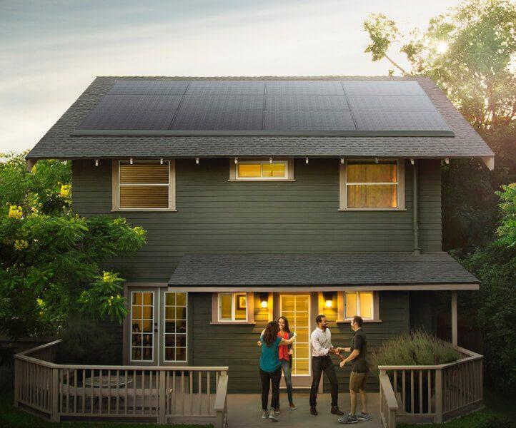 Tesla без лишнего звука представила новые солнечные панели