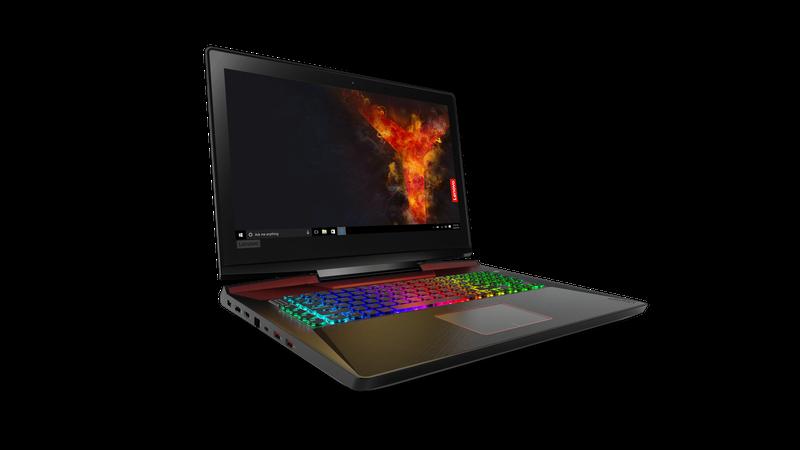 Lenovo представила 17-дюймовый игровой ноутбук Legion Y920