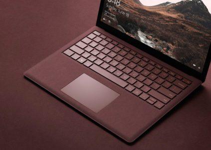 Microsoft: «роскошное» тканевое покрытие Surface Laptop потребует периодического несложного ухода