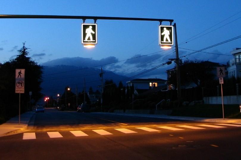 На29 пешеходных переходах вКиеве появится сенсорное освещение