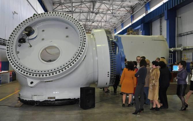 В Краматорске изготовили самую мощную в Украине ветроэнергетическую установку мощностью 3,2 МВт для ветропарка «Причерноморский»