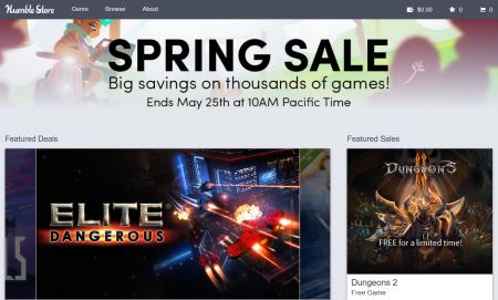 На Humble Bundle стартовала «Весенняя Распродажа» со скидками на игры до 95%
