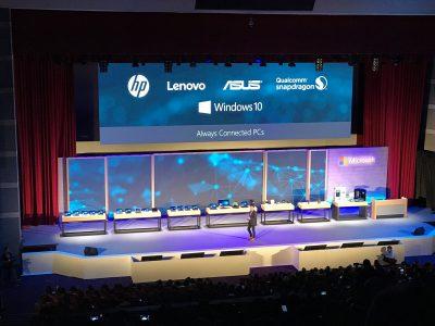 ASUS, HP и Lenovo выпустят ноутбуки на архитектуре ARM, работающие под управлением ОС Windows 10