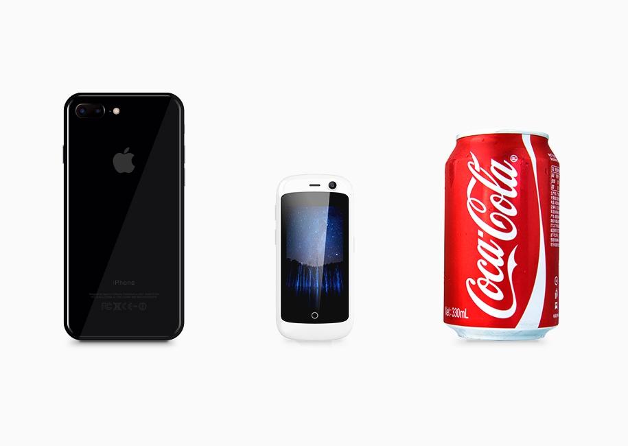 Создатели называют Jelly самым маленьким вмире Android-смартфоном споддержкой 4G