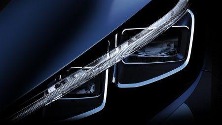 Nissan опубликовал первое тизерное изображение электромобиля Nissan Leaf следующего поколения