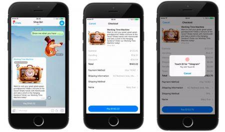 Telegram запустил платежи через ботов и видеоплатформу Telescope