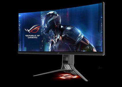 ASUS показала 35-дюймовый изогнутый игровой монитор с частотой обновления 200 Гц