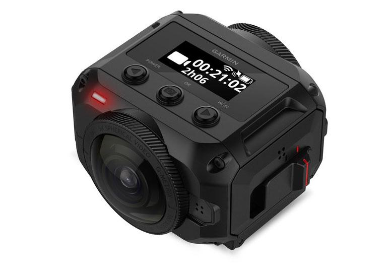 Водонепроницаемая камера Garmin Virb 360 снимает сферические панорамы