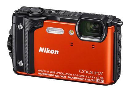 Nikon анонсировала защищённую компактную камеру Coolpix W300, способную записывать видео в разрешении 4K