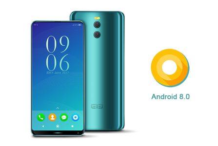 Elephone уже рекламирует анонс безрамочного флагмана с ОС Android 8.0