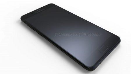 Появились качественные изображения и видео смартфона Samsung Galaxy C10 со сдвоенной основной камерой