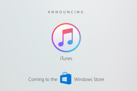 iTunes для Windows 10 появится в Windows Store