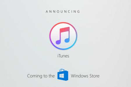 iTunes для Windows 10 появится в Windows Store