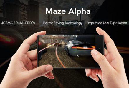 Стали известны характеристики безрамочного смартфона Maze Alpha