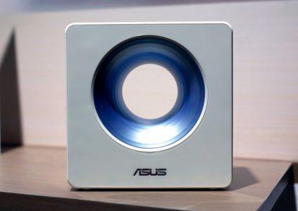 ASUS показала роутер Blue Cave с оригинальным дизайном и поддержкой Alexa