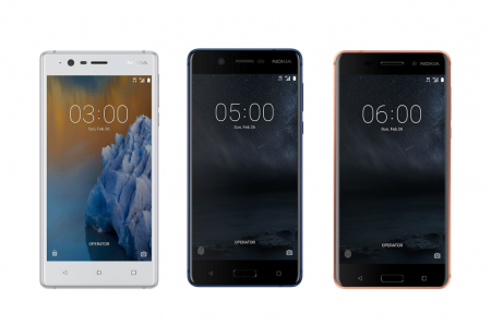 HMD Global объявила в Украине цены на смартфоны Nokia 3, 5, 6, а также на Nokia 3310
