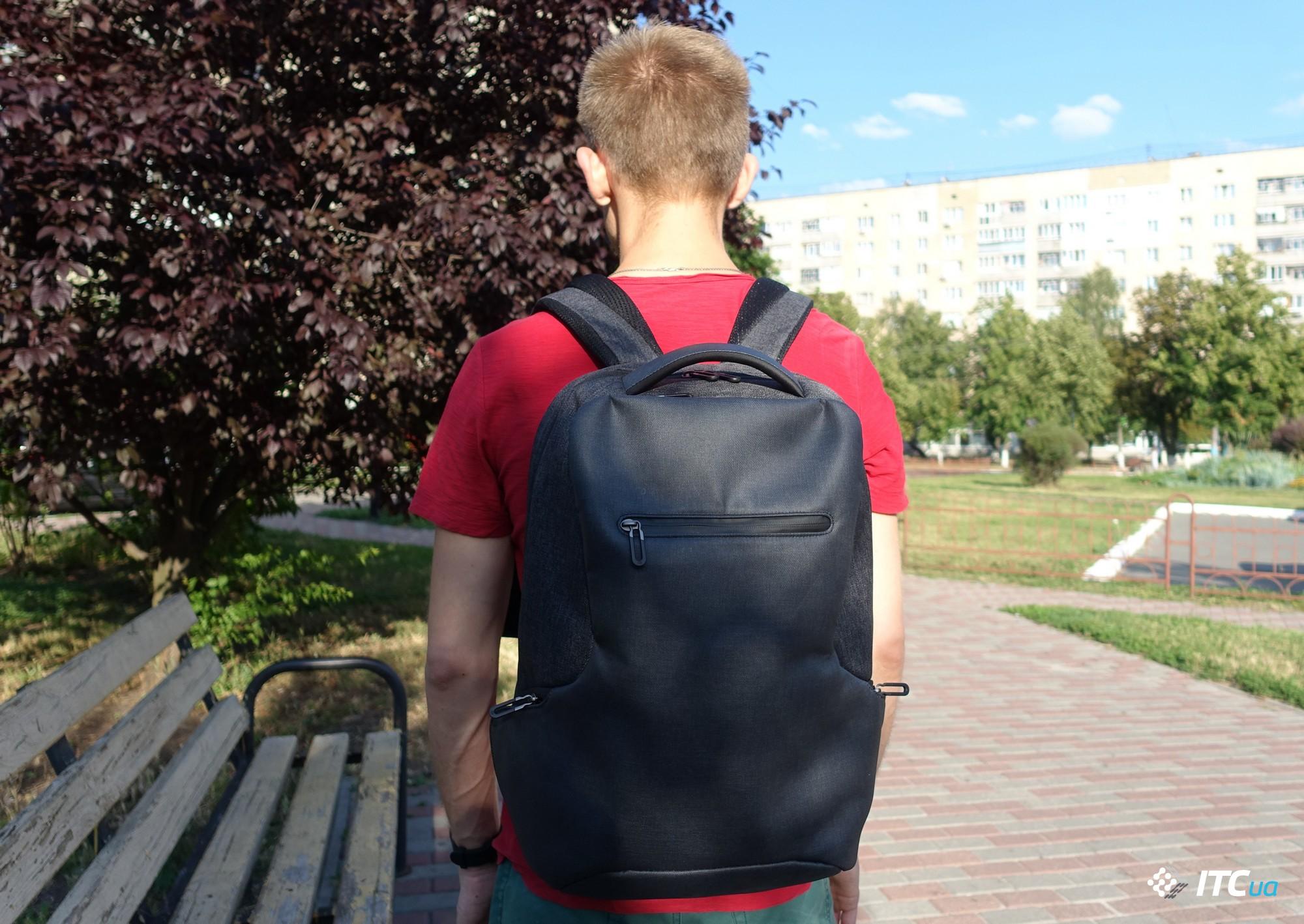 c5e6931a33c6 Все от Xiaomi  2  обзор рюкзака Mi Classic Business Multi-functional  Shoulder Bag