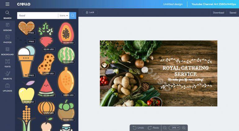 Depositphotos запускает бесплатный графический онлайн-редактор Crello