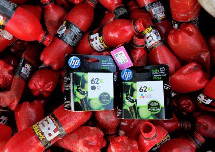 HP запустила инициативу по производству картриджей из переработанных пластиковых бутылок