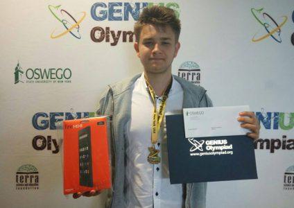 Украинский школьник победил на конкурсе в США с изобретением для очистки воды от нефти
