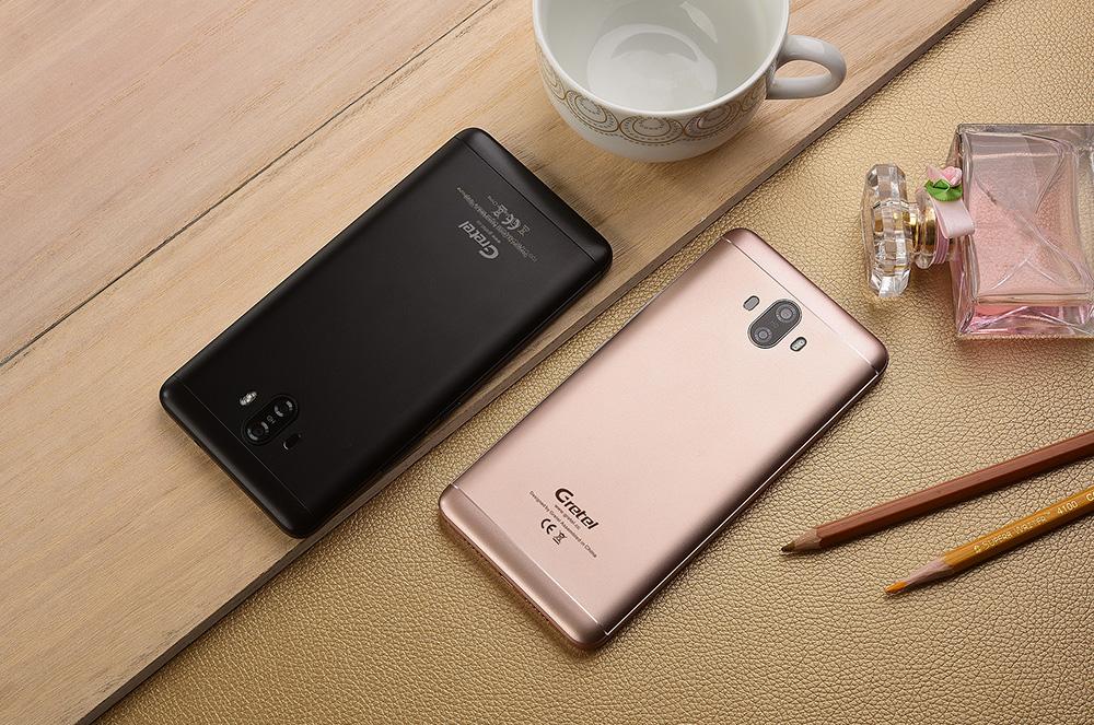 Gretel GT6000 - доступный смартфон с двумя камерами и аккумулятором 6000 мАч