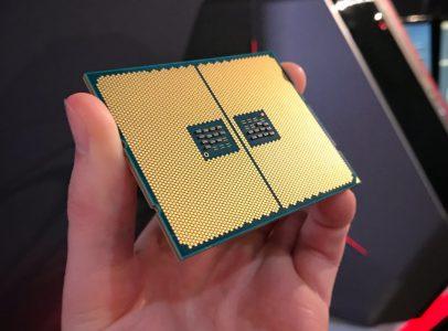 Фото: нижняя сторона корпуса процессора AMD Ryzen Threadripper