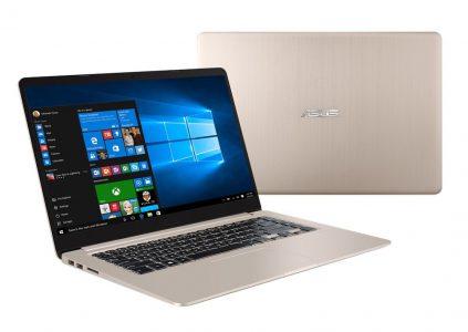 Стартовали продажи сверхтонкого алюминиевого ноутбука ASUS Vivobook S с процессорами Intel седьмого поколения по цене от $700